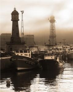 moll del rellotge - port de Barcelona