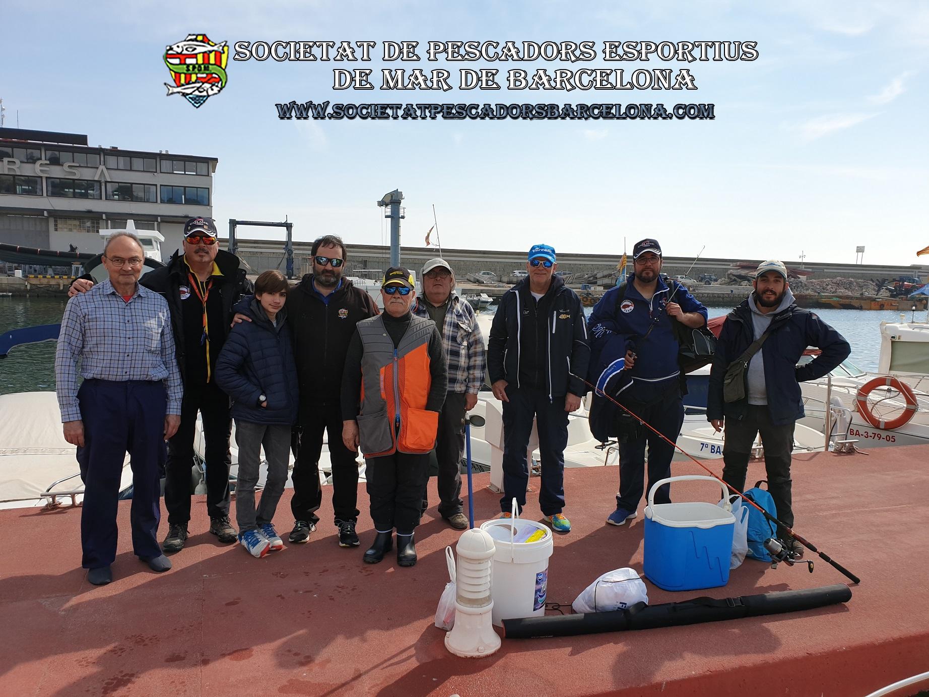 Aplec de embarcación fondeada 03-03-2019 (Arenys de Mar)Aplec d'embarcació fondejada 03-03-2019 (Arenys de Mar)