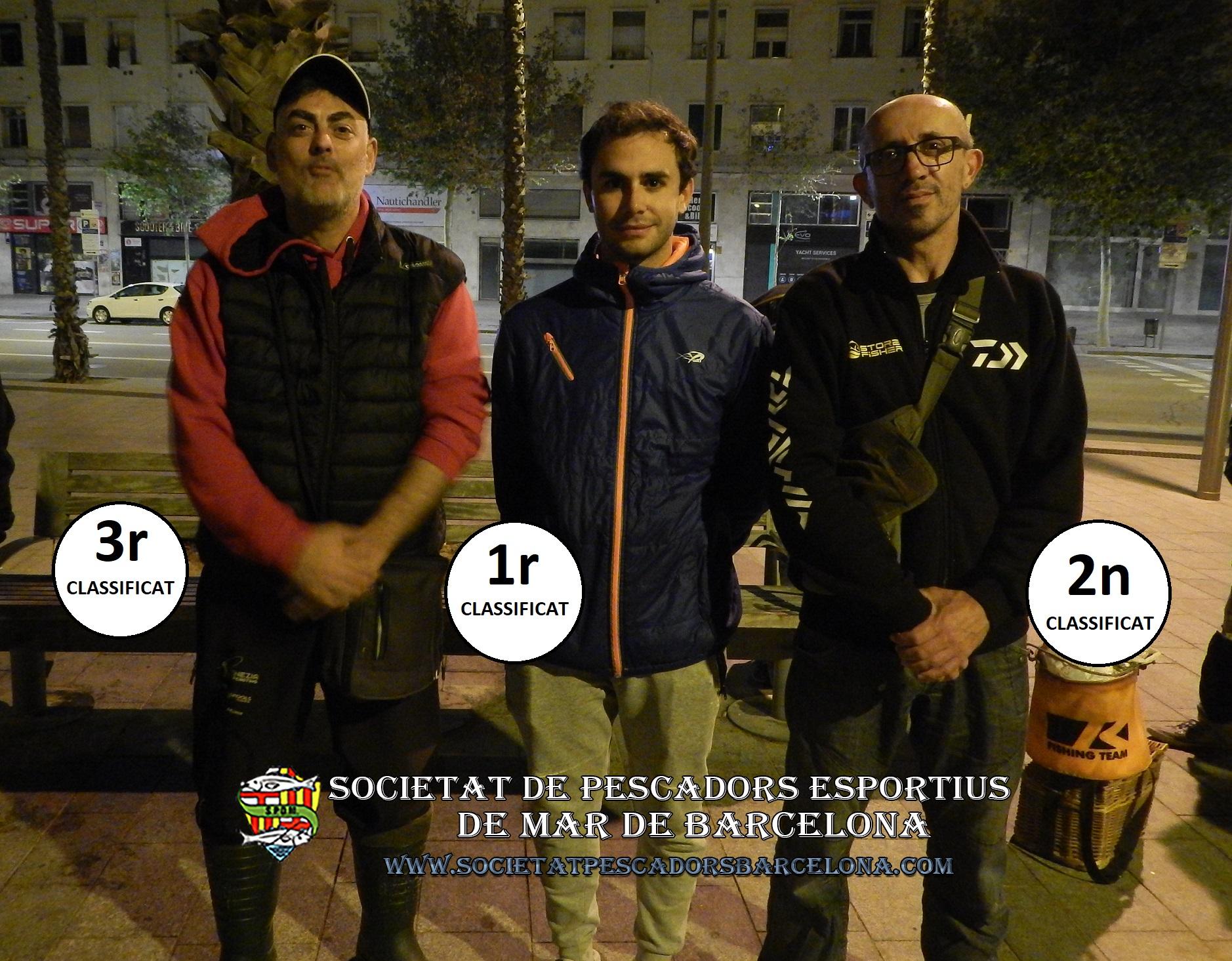 2ª prueba – Campeonato Mar-Costa 2019 – Lanzado/Surf-casting – Barcelona (10/11-05-2019)2a prova – Campionat Mar-Costa 2019 – Llancer/Surf-càsting – Barcelona (10/11-05-2019)