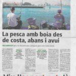 Pesca amb boia al mar - Competició