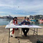 La Cofradía de Pescadores de Barcelona con los más vulnerables. 07-10-2020